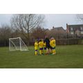 Pre-match huddle.
