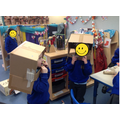 These robot heads were great fun to make and to play with!