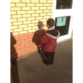 We saw how our bodies can make shadows too!