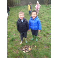 We made some giant birds nests to look after the animals!