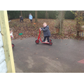 Bikes, trikes and scooters are fab for our physical development!