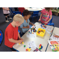 Using manipulatives to solve problems