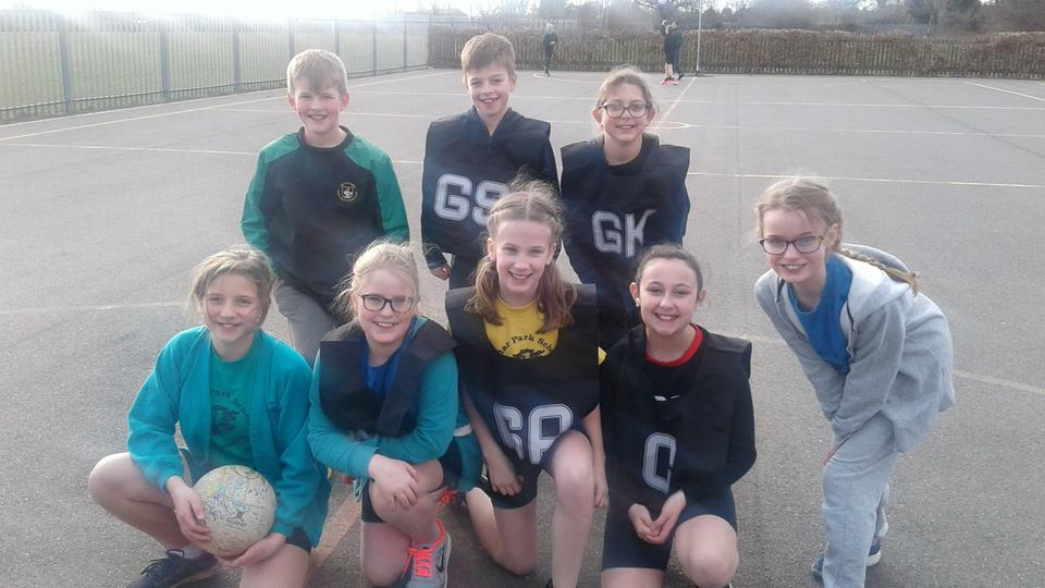 Photo of Years' 5 and 6 Netball Team