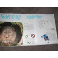 Ruby's Water Habitat Poster