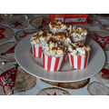 Lily's popcorn cupcakes
