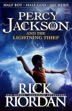 Percy Jackson & The Lightning Thief book cover