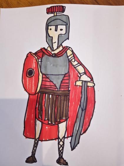 A Roman Centurion by Charlie