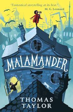 Malamander book cover