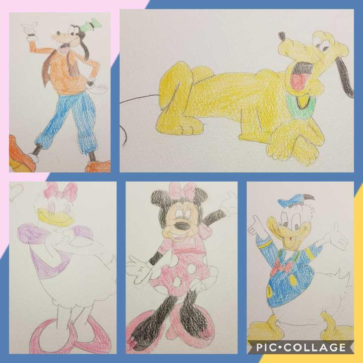 Awesome Disney characters drawn by Lexie