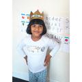 Look at Raksana's crown.