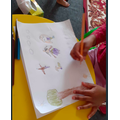 Raksana did a detailed drawing.