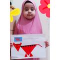 Halima made a shape tiger
