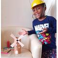 Leonik made his windmill