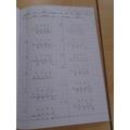 A fantastic piece of maths work!