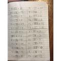 Alexandru did some hard maths work.