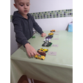 Luca collected his cars to use for his counting