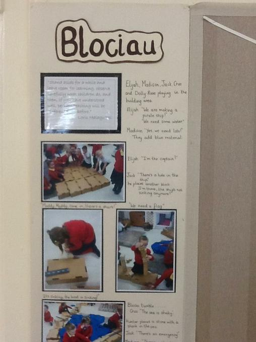 Our Block play creations