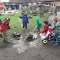 Muddy puddle play