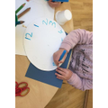 Writing numbers with a purpose
