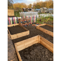Building our raised beds