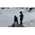 On the glacier de la Tour