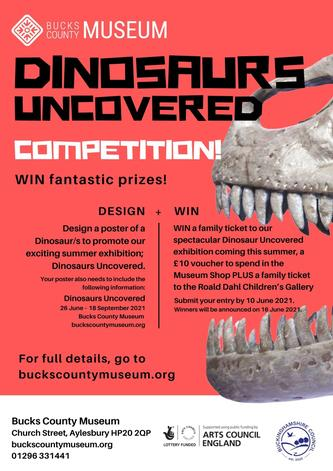 Dinosaur Poster COmpetition