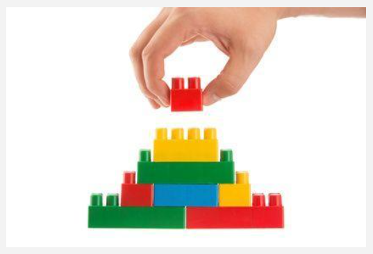 Lego- Build a tower and then take it apart