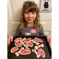 Chloe's meaty biscuits - Chestnut Class