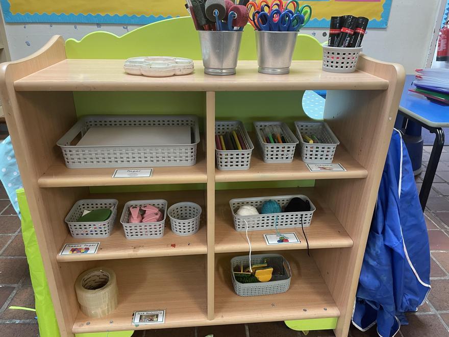 Pine Class Art Area