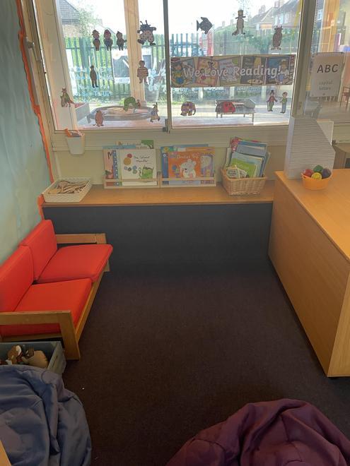 Willow Class Book Corner