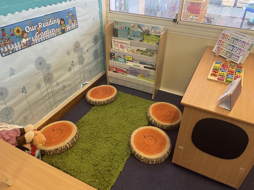 Pine Class Book Corner