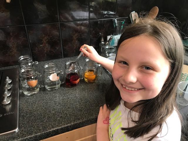 Elena's Eggs-periment!