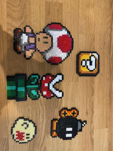 Molly has made even more excellent Mario characters! Which is your favourite?