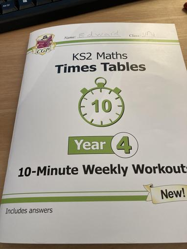 Ed's new Maths book