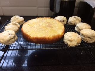 Joss's baking!