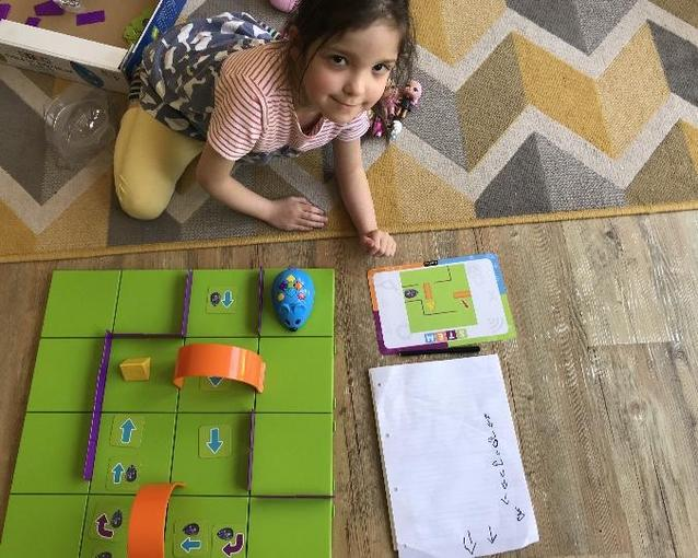 Isabelle coding using Robot Mouse