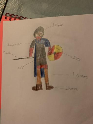 ...and Viking warrior diagram!