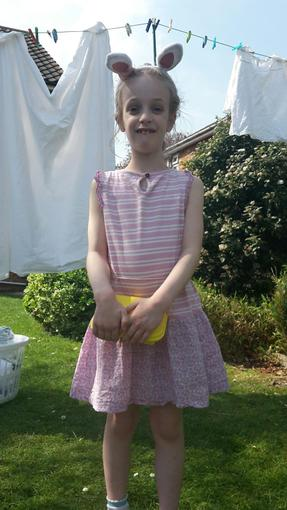 Niamh at Easter