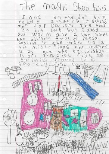 Freya's Writing Year 1
