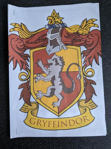 Lyssy's wonderful Gryffindor booklet which she has created...