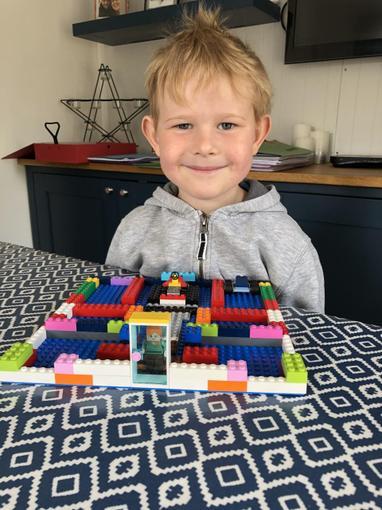 Ollie's Lego house