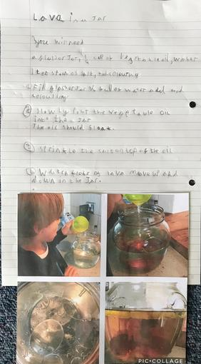 Toby's Writing - Year 3