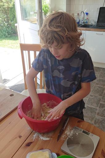 Alfie has been busy baking...