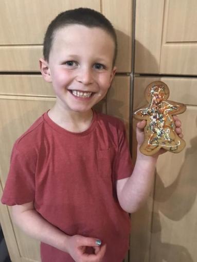 Lucas's gingerbread man