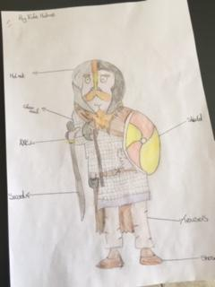 Edie's beautiful Viking diagram!