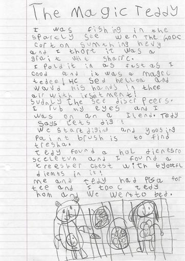 Freya's Writing