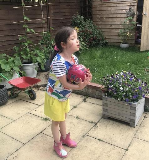 Isabelle's sports day activities