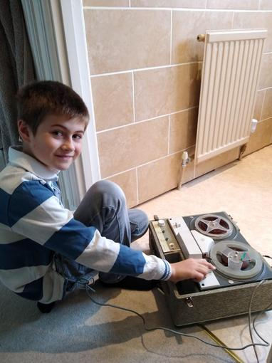 Daniel - Reel to reel recorder