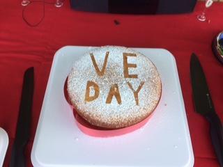 Joss and Devon's VE cake!