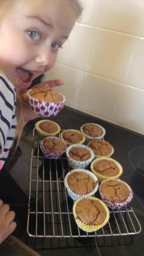Holly's yummy Nutella cakes